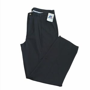 NWT Russell black athletic pants size 44